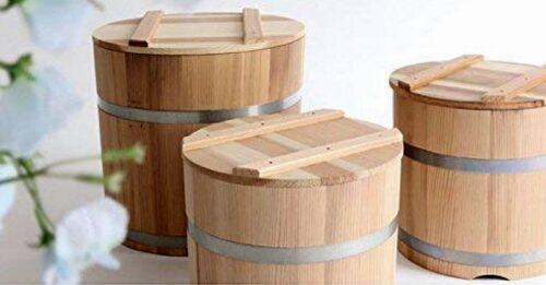 Tsukemono Bareru 11L Sugi - Gemüse-Einlege-Fass - speziell für uns gefertigt ! 2