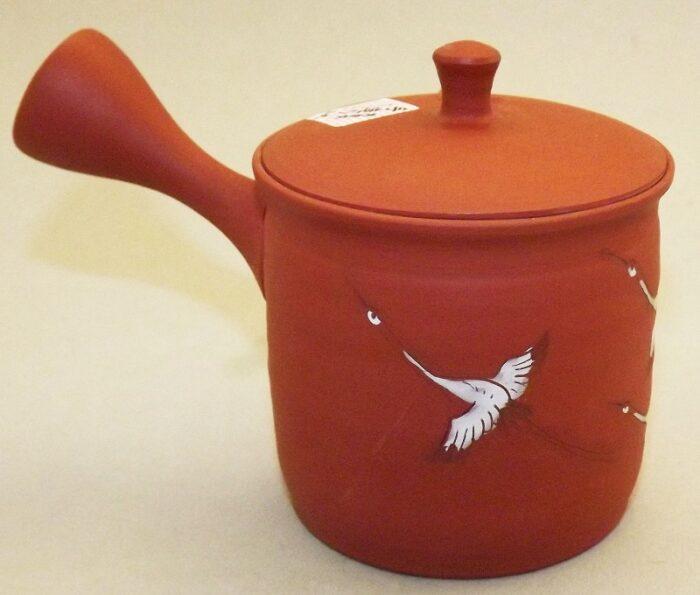 Kyusu-Teekanne Keramik Tsuru 150 ml 2