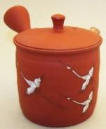 Kyusu-Teekanne Keramik Tsuru 150 ml 7