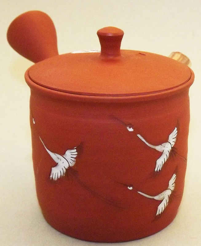 Kyusu-Teekanne Keramik Tsuru 150 ml 1