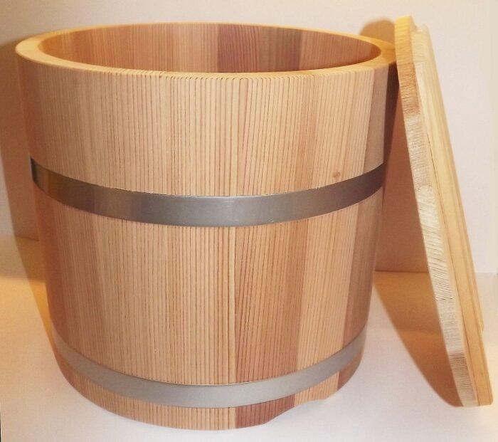 Tsukemono Bareru Sugi - Gemüse-Einlege-Fass - speziell für uns gefertigt ! 2