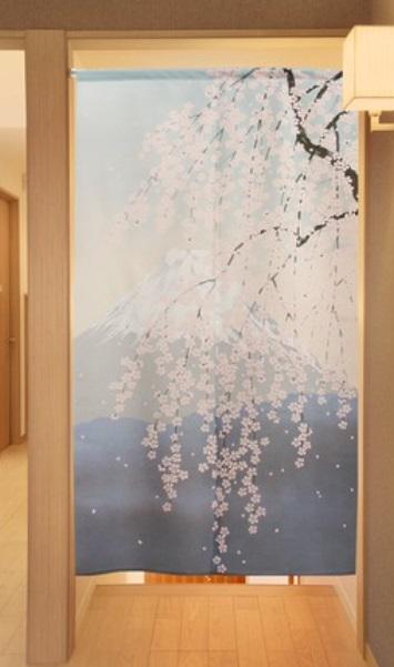 Noren Sakura aoi 1