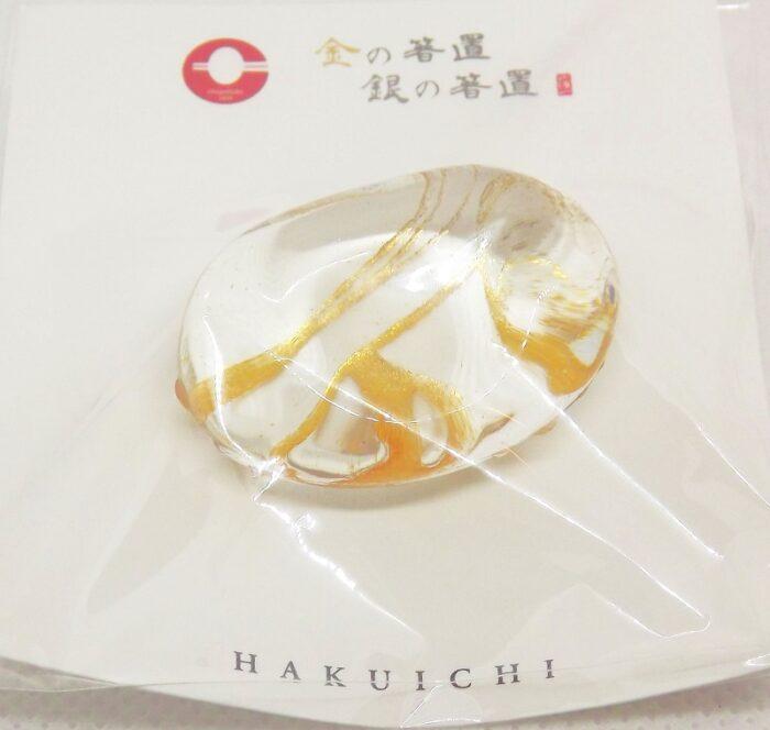 Hashioki Unikate Glas mit Gold 2