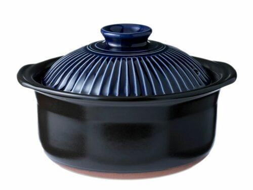 "Reis-/Kochtopf + Servierschüssel Kikku ""L"" Keramik 1"