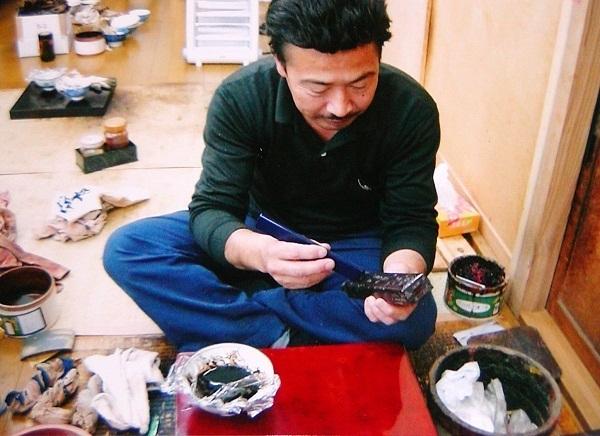 Hashi Bako Urushi von Meister Okawa 1