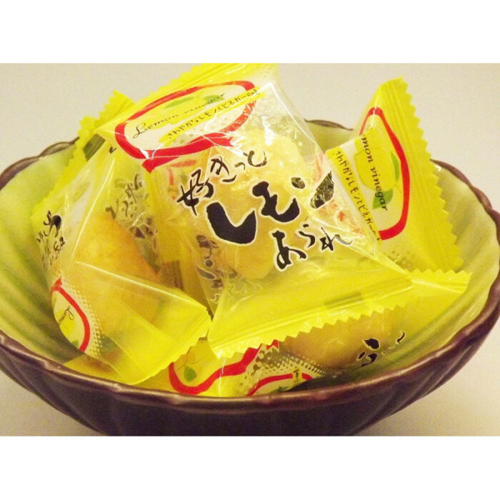 Sukitto Lemon Arare 54g Morihaku 4