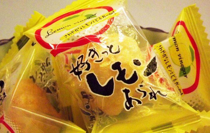 Sukitto Lemon Arare 54g Morihaku 1