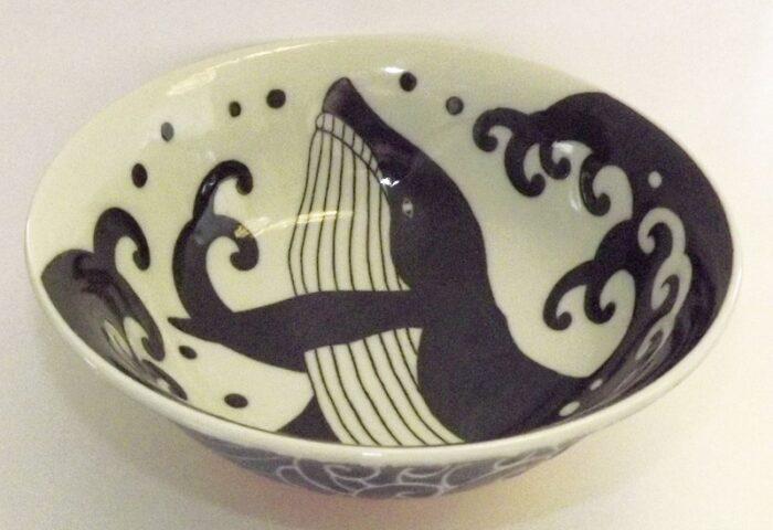 Keramik Bowl Kujira 20.7cm 1