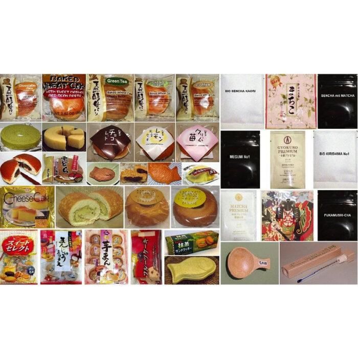Großes Japan-Kuchen-Sortiment 26 tlg. - auch mit Tee 2