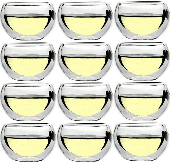 Doppelwand Sake-Glas 3