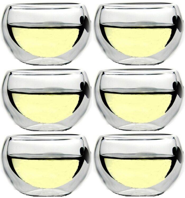 Doppelwand Sake-Glas 2